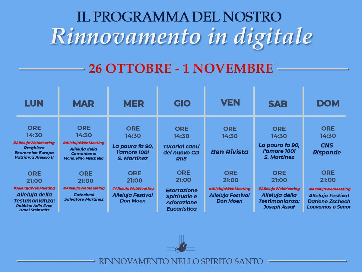 rinnovamento in digitale